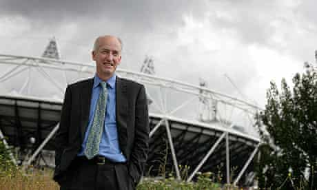 David Higgins, Chief Exec of the Olympic Delivery Authority