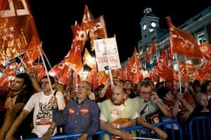 European strikes: Eve of the general strike in Barcelona, Spain
