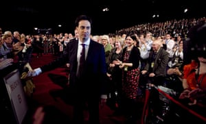 Labour party conference: Delegates applaud new party leader Ed Miliband's speech
