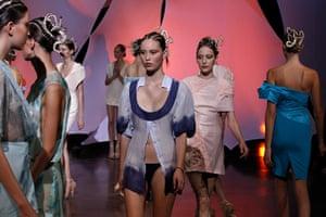 Paris fashion week: Fatima Lopes spring/summer 2011 Paris fashion week