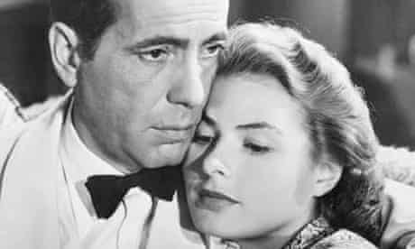 Ingrid Bergman and Humphrey Bogart in <Casablanca>