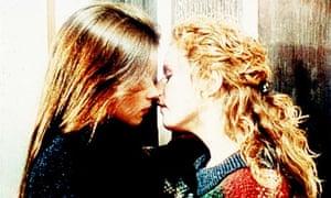 The famous Brookside lesbian kiss