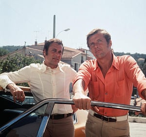 Tony Curtis: Tony Curtis and Roger Moore in 'The Persuaders'  tv series