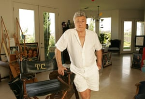Tony Curtis: Tony Curtis at his home in Las Vegas, Nevada in August 2006