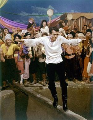 Tony Curtis: Tony Curtis in Taras Bulba, 1962