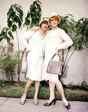 Tony Curtis: Tony Curtis with Jack Lemmon in Some Like it Hot, 1959