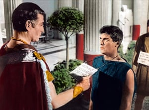 Tony Curtis: Laurence Olivier and Tony Curtis in Spartacus