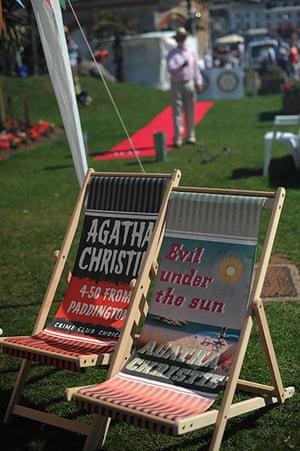 Agatha Christie festival: Deck chairs