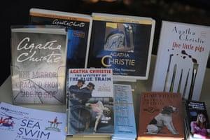 Agatha Christie festival: An Agatha only book stall