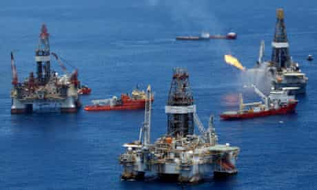 Transocean oil rig owner