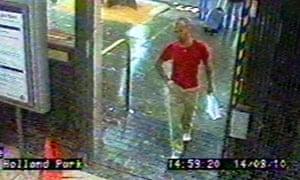 CCTV Gareth Williams