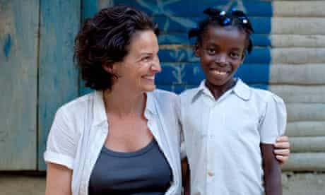 Sphie Arie with Natacha Etienne