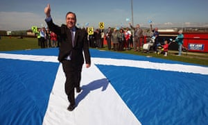 Alex Salmond On Final Week Of Election Campaigning
