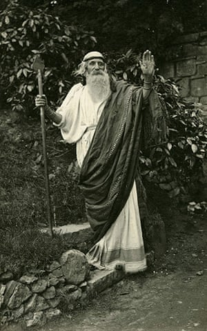 George Bernard Shaw: View of Shaw dressed as Merlin, or a wizard
