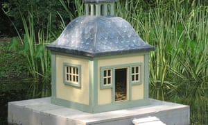 The duck house that Conservative MP Sir Peter Viggers claimed on his expenses.