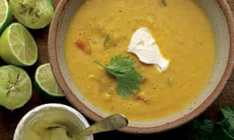 Sweetcorn soup