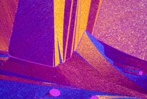 Bike blog: Urea crystals from melt