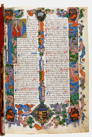 Secret Archives Vatican: Tracts on the life and visions of St Frances Romana, 1469