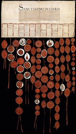 Secret Archives Vatican: Henry VIII's Great Matter and the letter of the peers to Clement VII, 1530