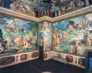 Secret Archives Vatican: Murals