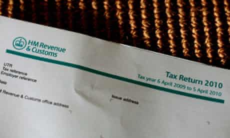 Tax return letter