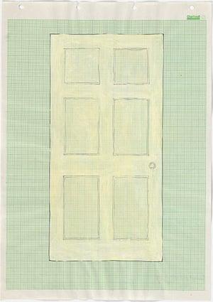 Rachel Whiteread: Door, 1992