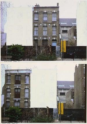 """Rachel Whiteread: Study for """"House"""", 1992"""