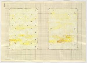 Rachel Whiteread: Untitled (Double Mattress Yellow), 1991