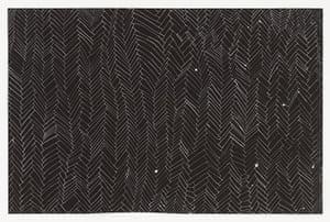 Rachel Whiteread: Black And White Floor, 2001
