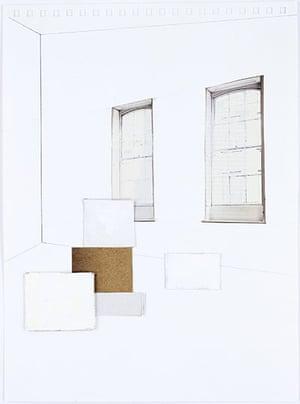 Rachel Whiteread: Two Windows, 2007