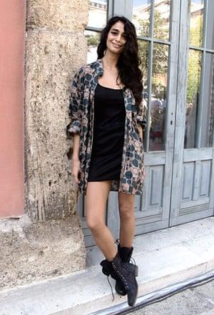 Face hunter: Istanbul: Beril, 22, model and Pilates teacher