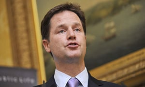 Clegg speaking at 'Standards in Public Life'