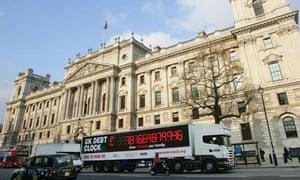 TaxPayers' Alliance Debt Clock