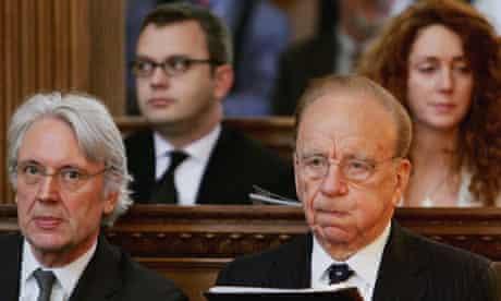 Rupert Murdoch News of the World phone hacking scandal