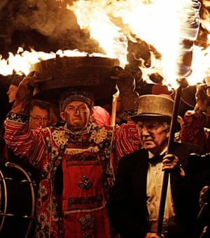 New Year celebrations: The Allendale Tar Barrel Festival