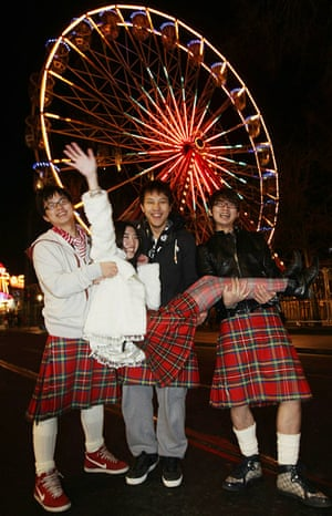 New Year celebrations: Hogmanay In Edinburgh