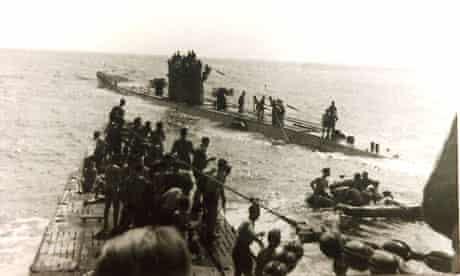 Laconia survivors U-156