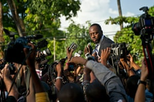 Haiti one year on: August 5:  Musician Wyclef Jean announces run for presidency