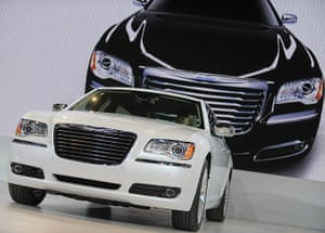 Detroit Auto Show: The new Chrysler 300 is presented at the media preview