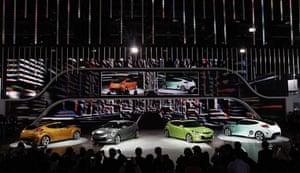 Detroit Motor Show: Hyundai Velostar vehicles
