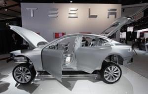 Detroit Motor Show: A Tesla Model S