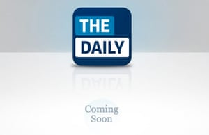 The Daily landing page