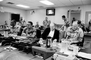 Gulf War: Powell, Cheney and Schwartzkopf discuss Operation Desert Storm