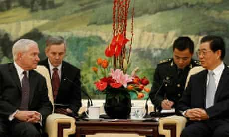 Robert Gates, China
