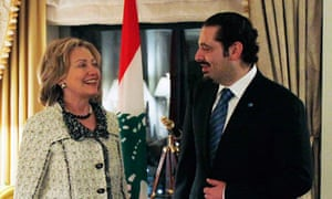 Saad Hariri is in danger of losing his Lebanese parliamentary majority as he visits Washington