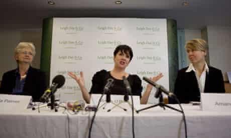 Miriam O'Reilly after winning her case