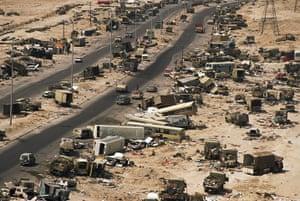 Gulf War: 12 Mar 1991: The Highway of Death in Northern Kuwait