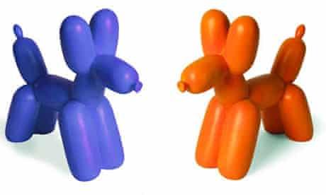Balloon dogs.