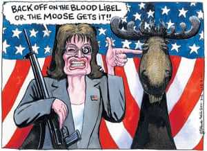 Steve Bell cartoon 13.01.2011