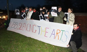 Barnet arts cuts